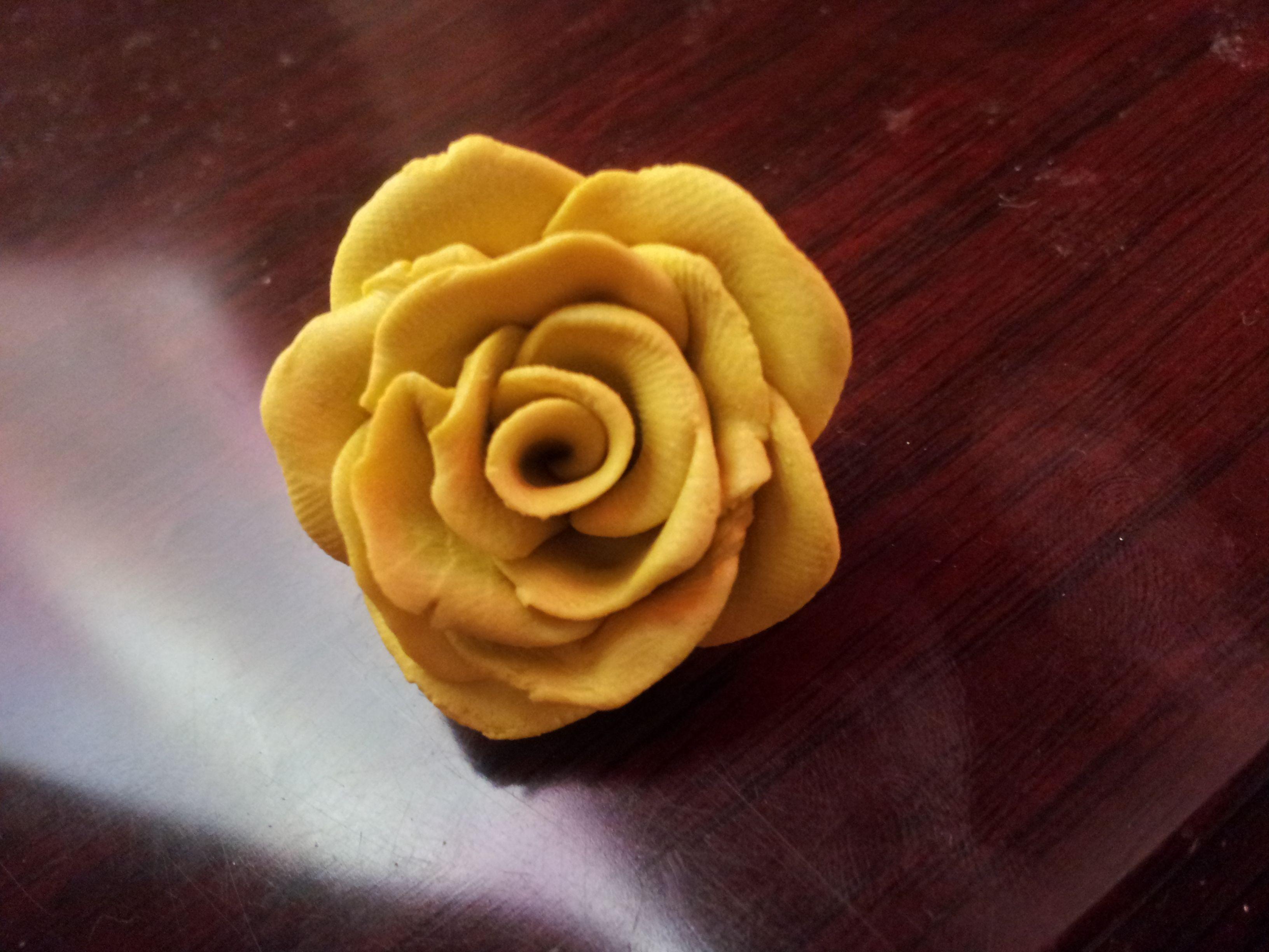 صلصال وردة صفراء Wedding Shawl Wedding Rose