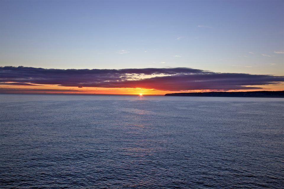 Puesta de sol sobre Es Cap - Formentera - Mediterranea Pitiusa
