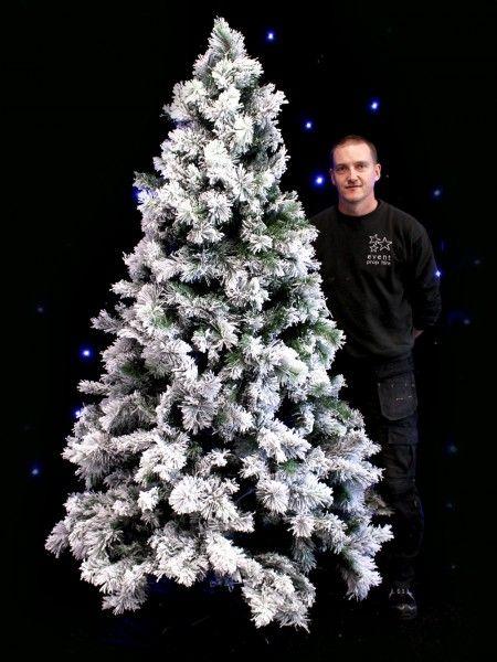 Snowy Tree - Large - Type 2 Apres Ski Party Theme Apres Ski - christmas decorators for hire
