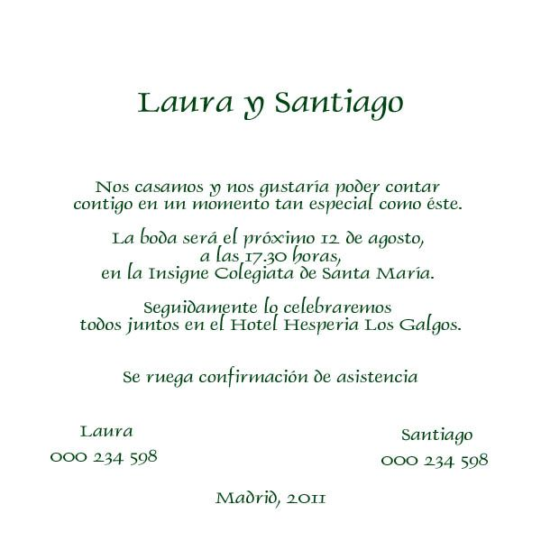 Juramento De Matrimonio Catolico : Resultado de imagen para invitaciones boda en espanol