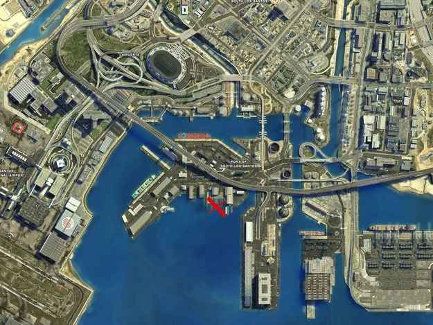 Here S The Location Of A Boat With Scuba Gear On It Grand Theft Auto Games Grand Theft Auto Gta City