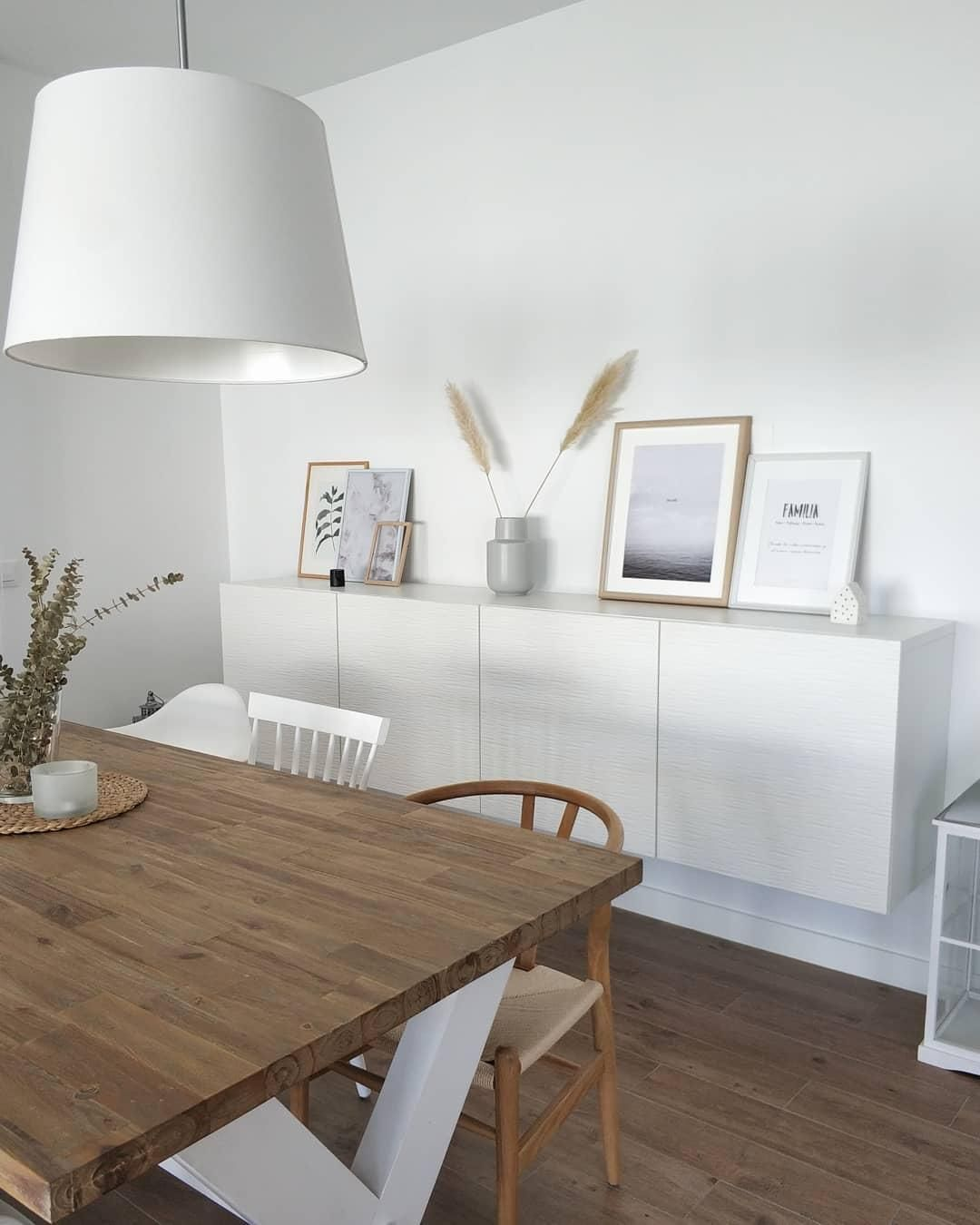Photo of Natural Scandi! In this beautiful dining room in natural, Scandinavian … – My Blog