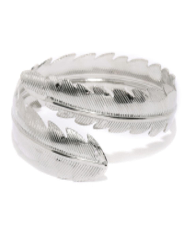 Buy anouk oxidized silver toned cuffed bracelet bracelet for women