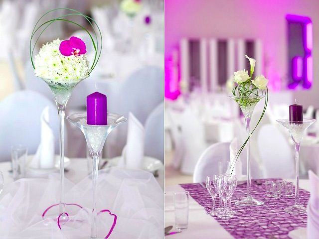 Cute Table Topper For Wedding Receptions