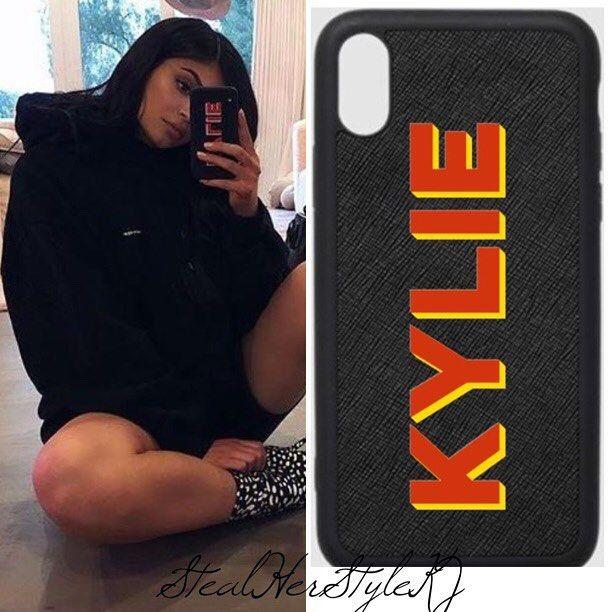 wholesale dealer 98d88 71957 kyliejenner via Instagram #TheDailyEdited Custom Black Iphone Case ...