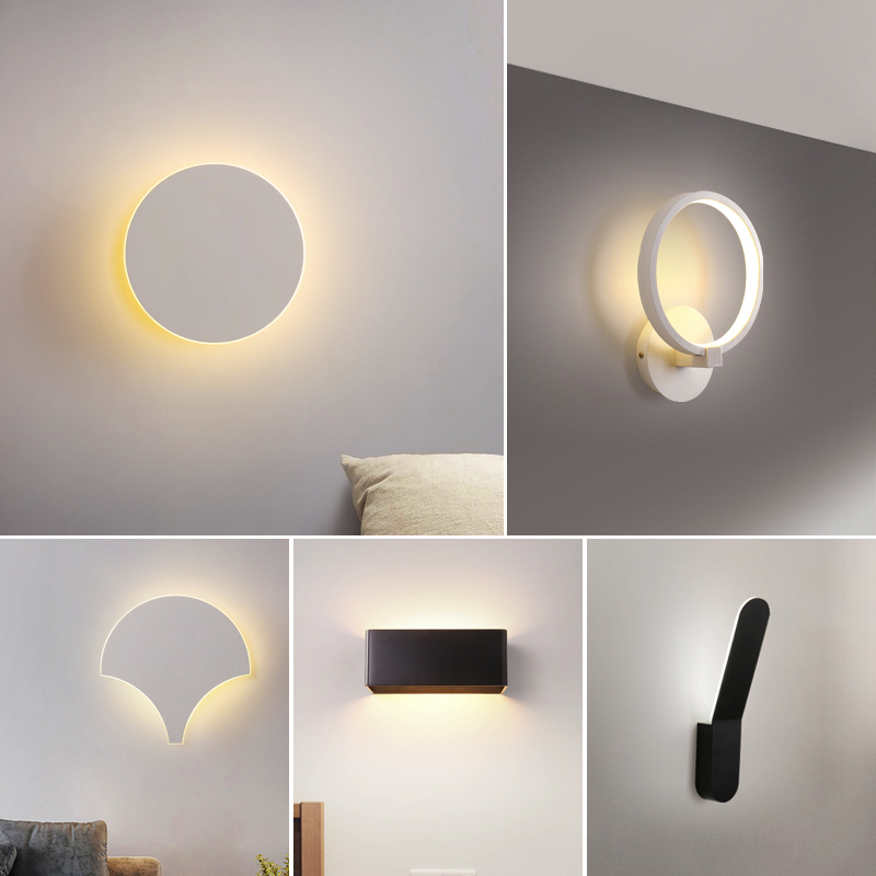 Modern Wall Light Led Indoor Wall Lamps Led Wall Sconce Lamp Lights For Bedroom Living Room Stair Mirror Ligh In 2020 Wall Lights Mirror With Lights Modern Wall Lights