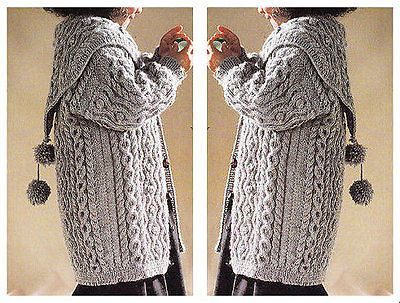 girls cardigan and waistcoat dk knitting pattern 99p