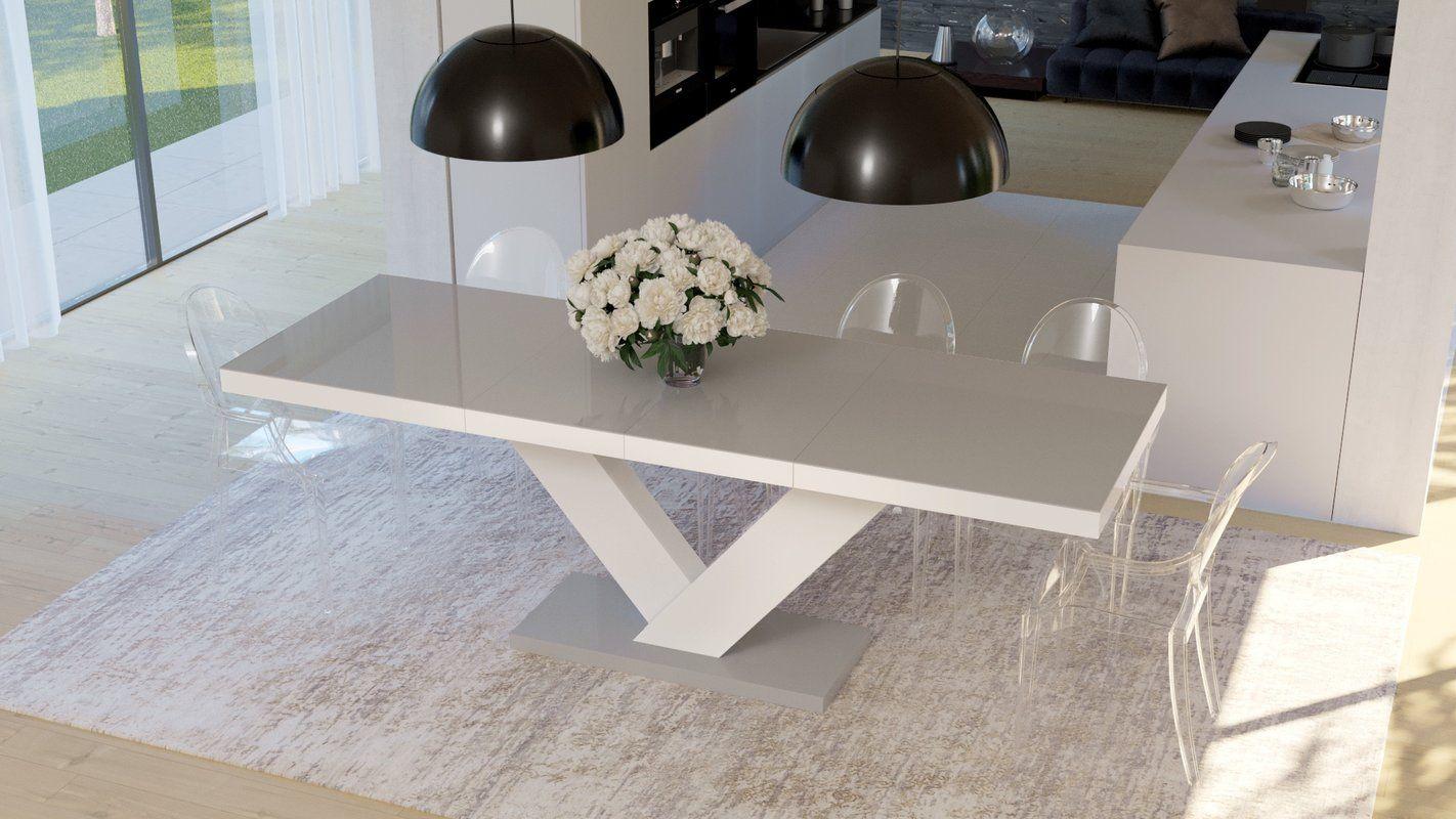 Orren Ellis Cann Extendable Dining Table Wayfair Dining Table Dining Table Black Dining Table Price