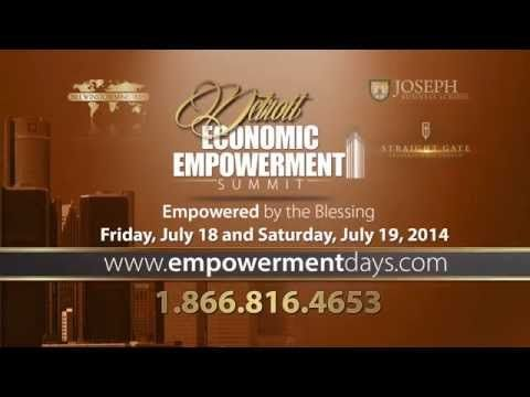 We'll see you in Detroit this week for the Economic Empowerment Summit! www.empowermentdays.com #EESummitTour