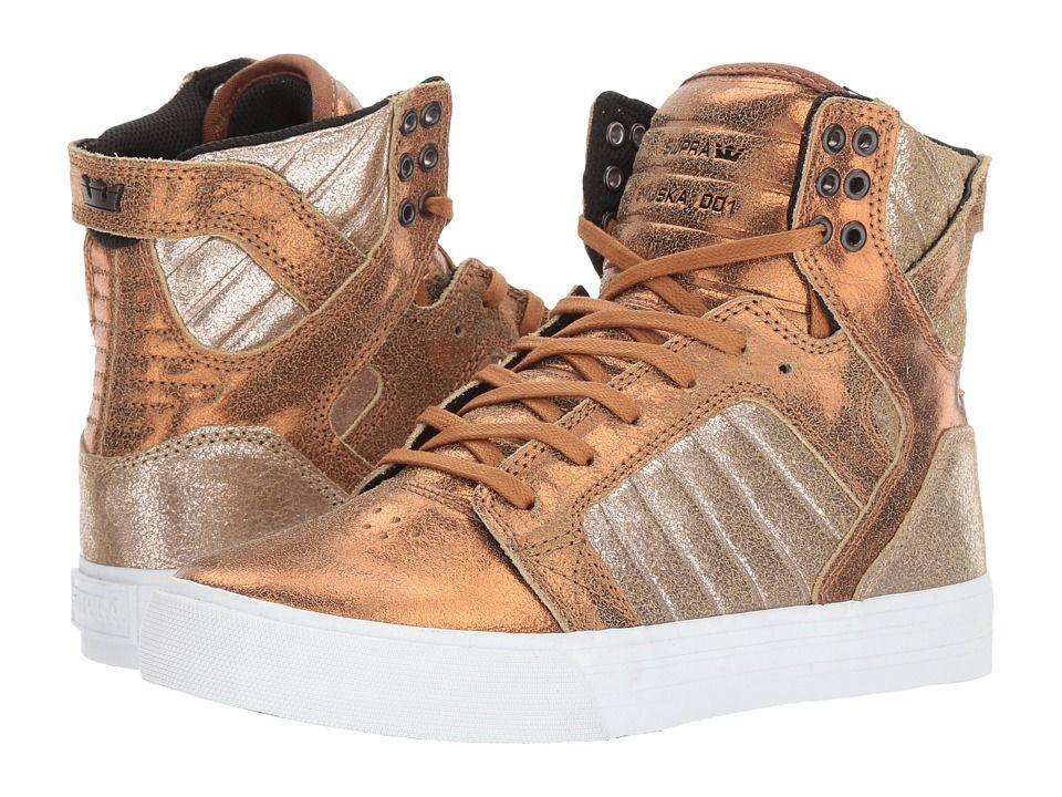 9e835861ec0f Supra Skytop Women s Skate Shoes Metallic Pewter White