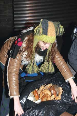 Freeganism The Lifestyle Where Everything I Free Dumpster Diving Save Food On Essay