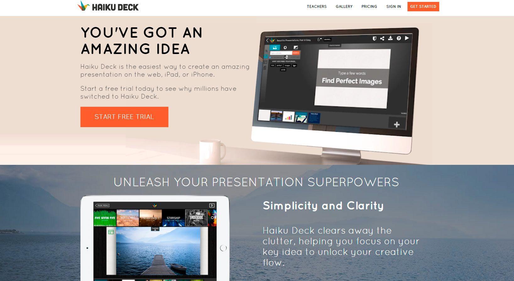 4 herramientas gratuitas para crear presentaciones muy chulas y potentes