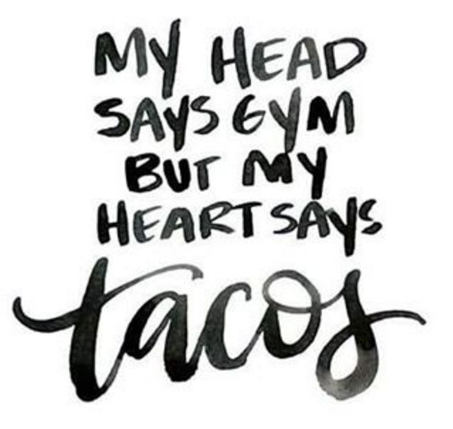 Taco quote. Funny Quote. Taco Tuesday. Modern Calligraphy ...