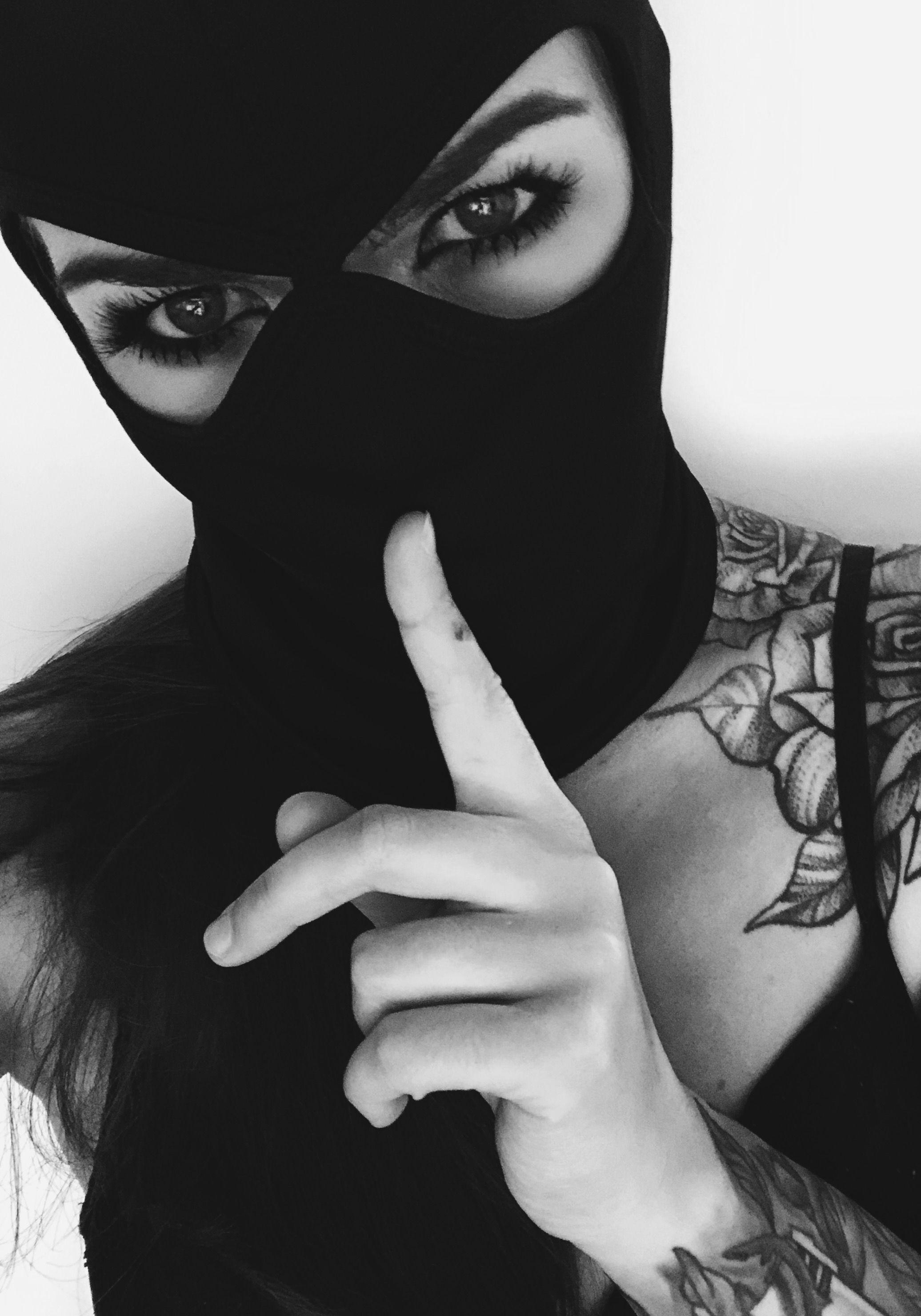 inked balaclava tattoo inkedgirl Inked girls