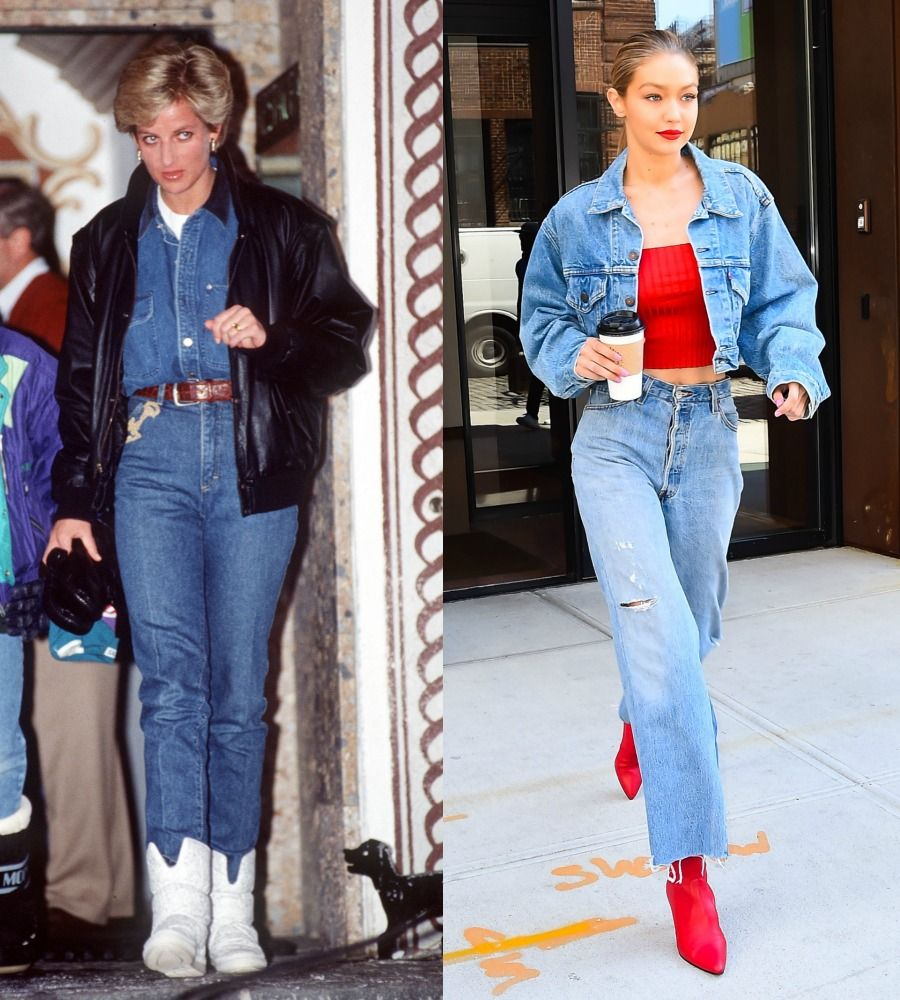 How Princess Diana S Style Still Reigns Princess Diana High Wasted Jeans Fashion