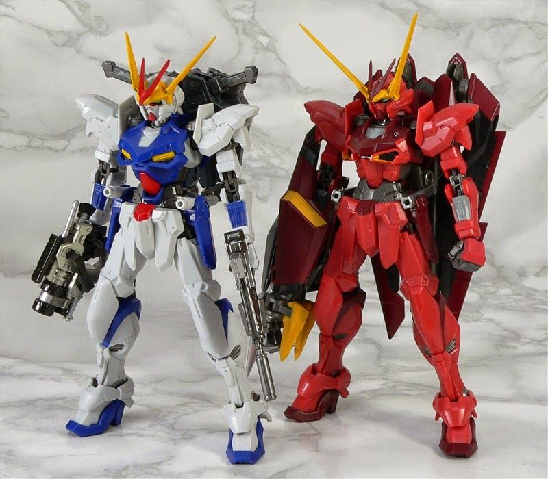 GUNDAM GUY: Tamashii Web Shop Exclusive: Robot Damashii (Side MS) ZGMF-X12D Gundam Astray Outframe - Review by toranekogangu