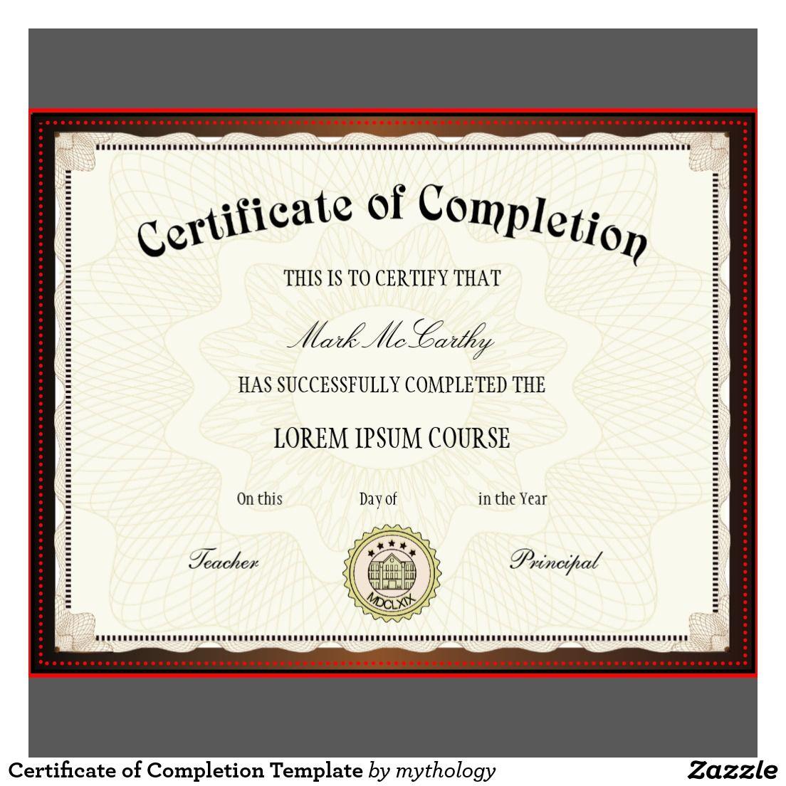 Free Printable Certificates Certificate Templates Certificate Of Completion Template Certificate Of Achievement Template Free Printable Certificate Templates Certificate of free sale template