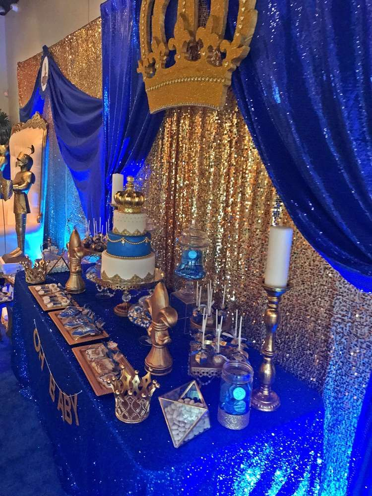 Prince Baby Shower Party Ideas En 2019 Planning Early