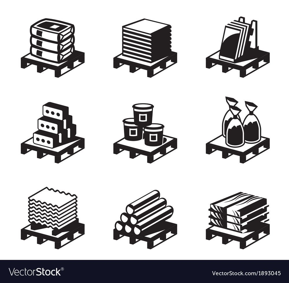 Building And Construction Materials Royalty Free Vector Aff