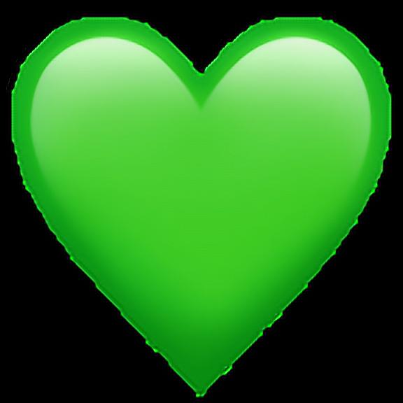 Discover The Coolest Greenheartemoji Green Heart Emoji