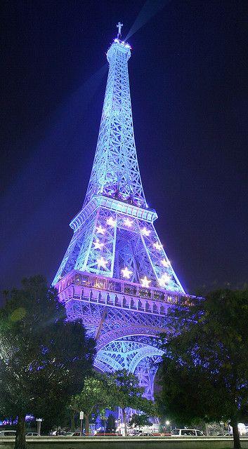 Tour Eiffel by night