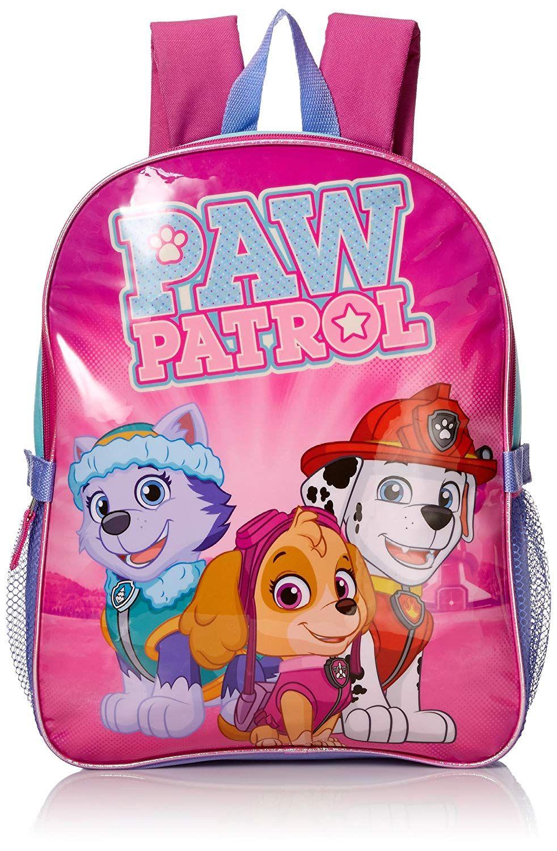 OFFICIAL PAW PATROL CHILDRENS GIRLS BOYS RUCKSACK BACKPACK SCHOOL BAG