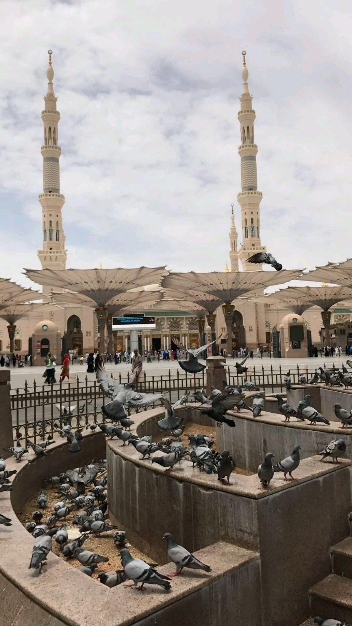 المدينه المنوره Fotografi Gambar Menakjubkan Arsitektur Islamis