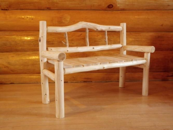 rustic furniture RUSTIC CEDAR LOG FURNITURE for sale in Timmins