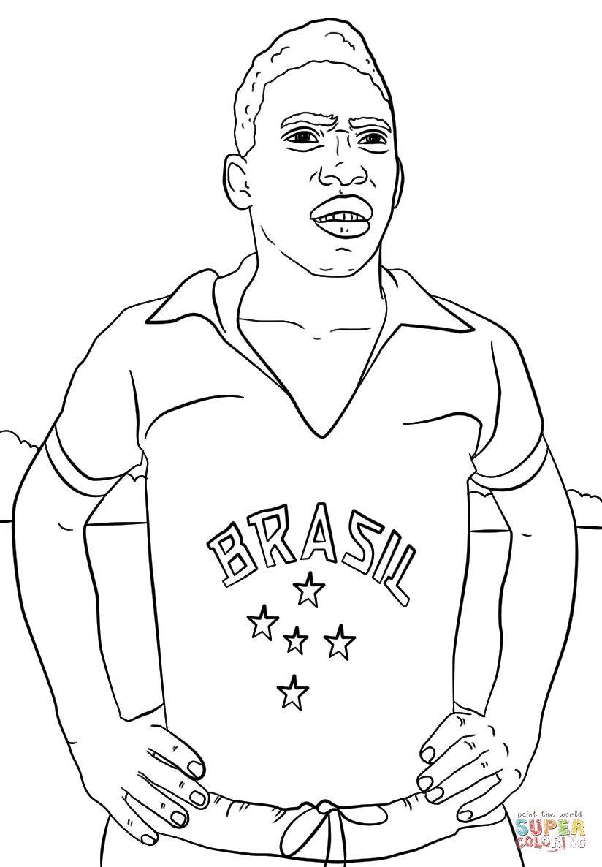 Pele Kleurplaat 8577 Pele Foot Football Coloriage Dessin Football Coloring Pages Coloring Pages Pele