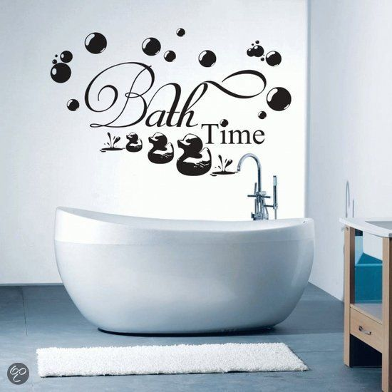 Muurtekst Bath Time M zwart - DIY | Pinterest - Zwart, Kleur zwart ...