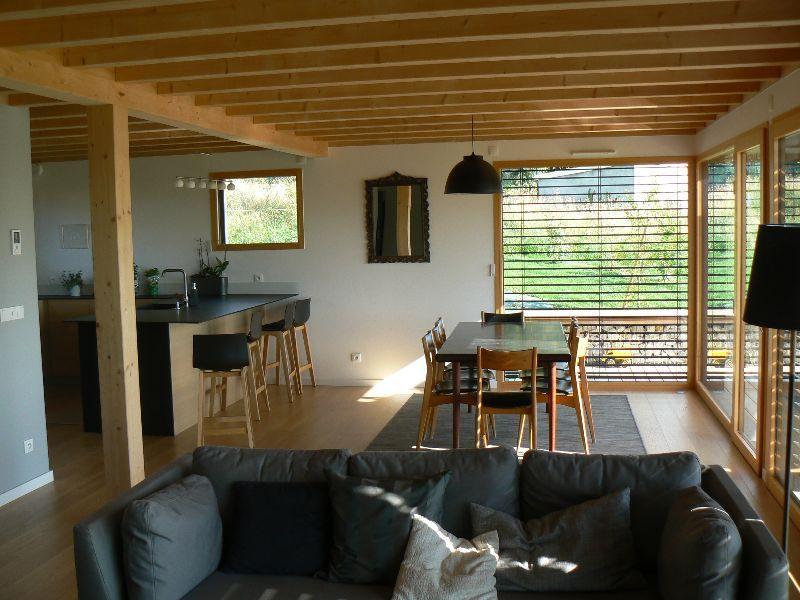 Charpenterie de l 39 ours co constructeur haute savoie for Constructeur maison individuelle haute savoie