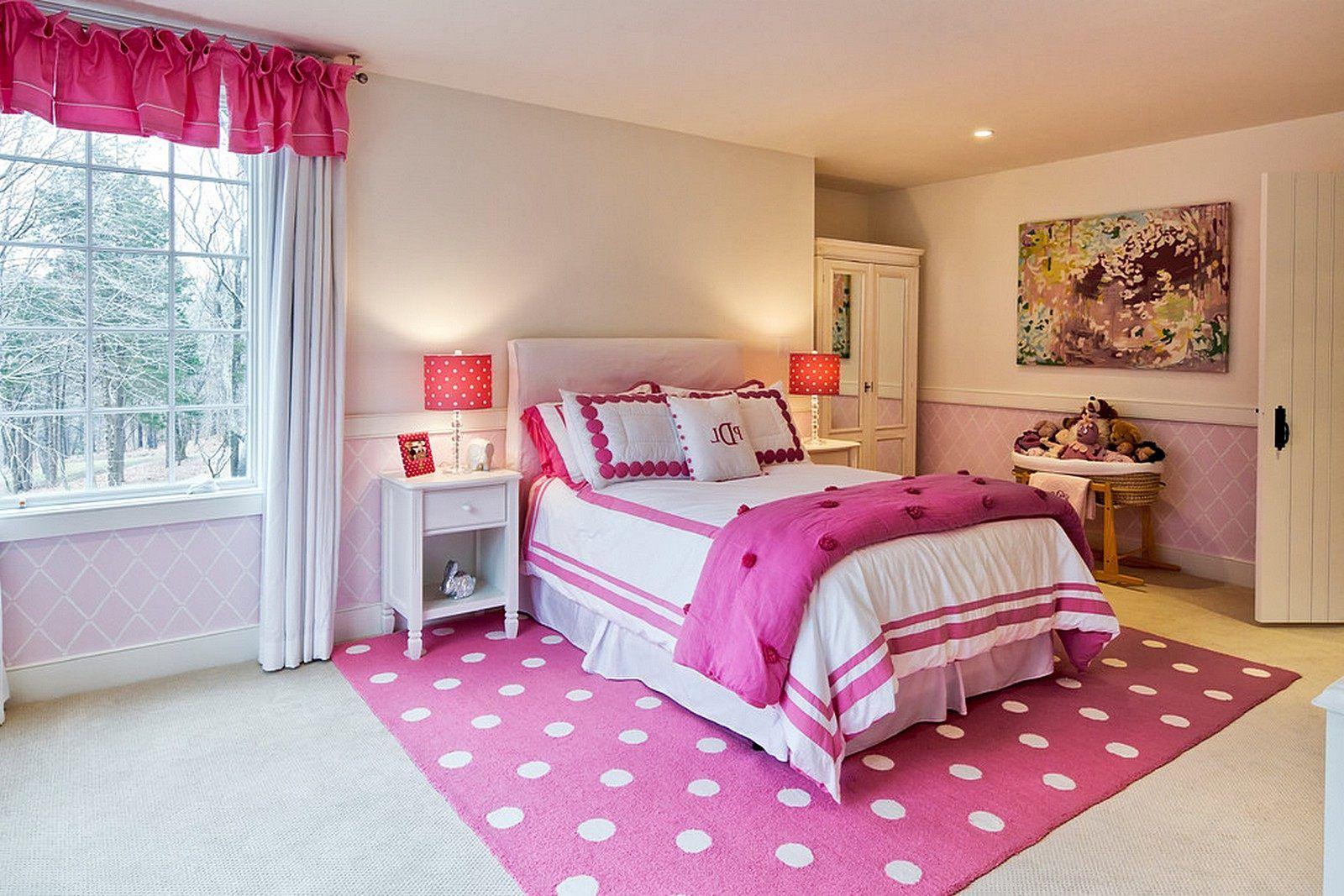 treppe bett neben tisch rosa und lila schlafzimmer designs