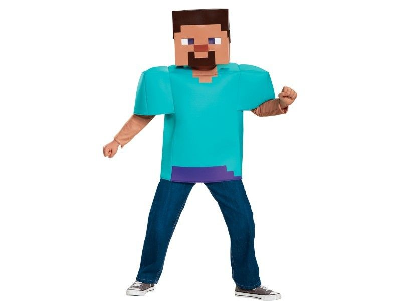 Embark On A Real Life Adventure With This Child S Minecraft Steve