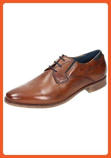 Bugatti unisex lace up shoes cognac size 41.0 EU - Oxfords for women (*Amazon Partner-Link ...