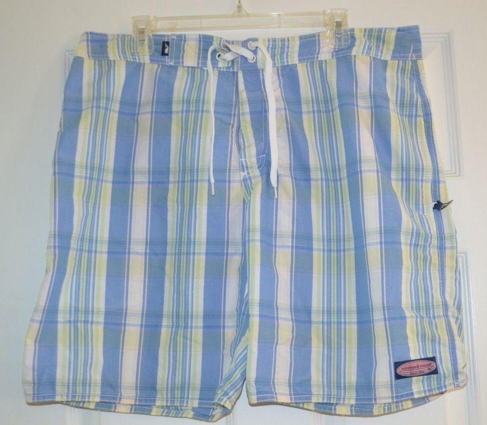 fa2985b36b040 Mens Vineyard Vines Swim Suit Trunks Bathing Suit Size 36 9