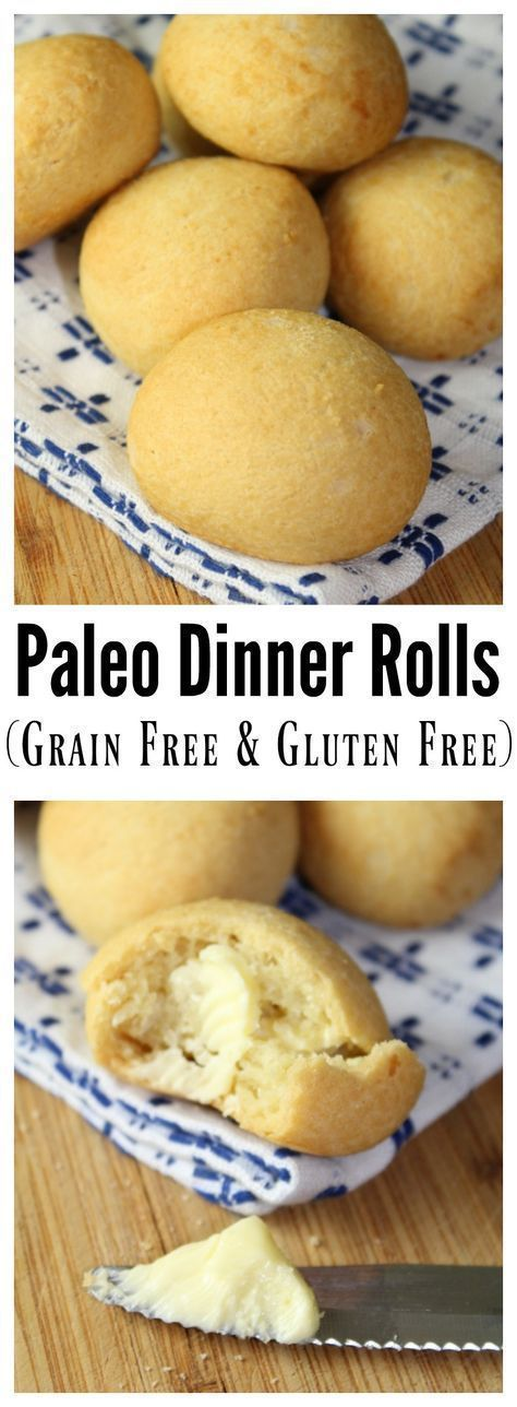 Paleo Dinner Rolls are grain free and gluten-free, and made with a combination of Tapioca and Coconut Flour.