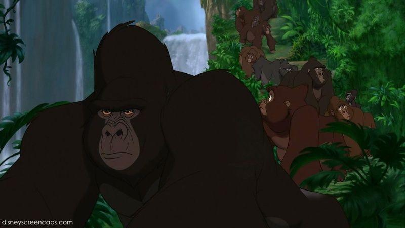 Day 6 your favorite animals the tarzan gorillas logo pinterest tarzan gorilla tarzan - Tarzan gorille ...