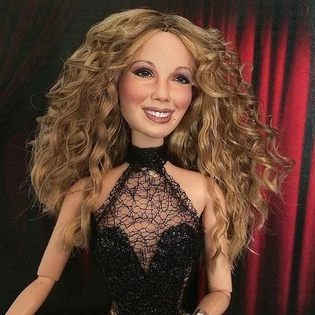 New Mariah Carey Doll I Made From Her Las Vegas Residency Made