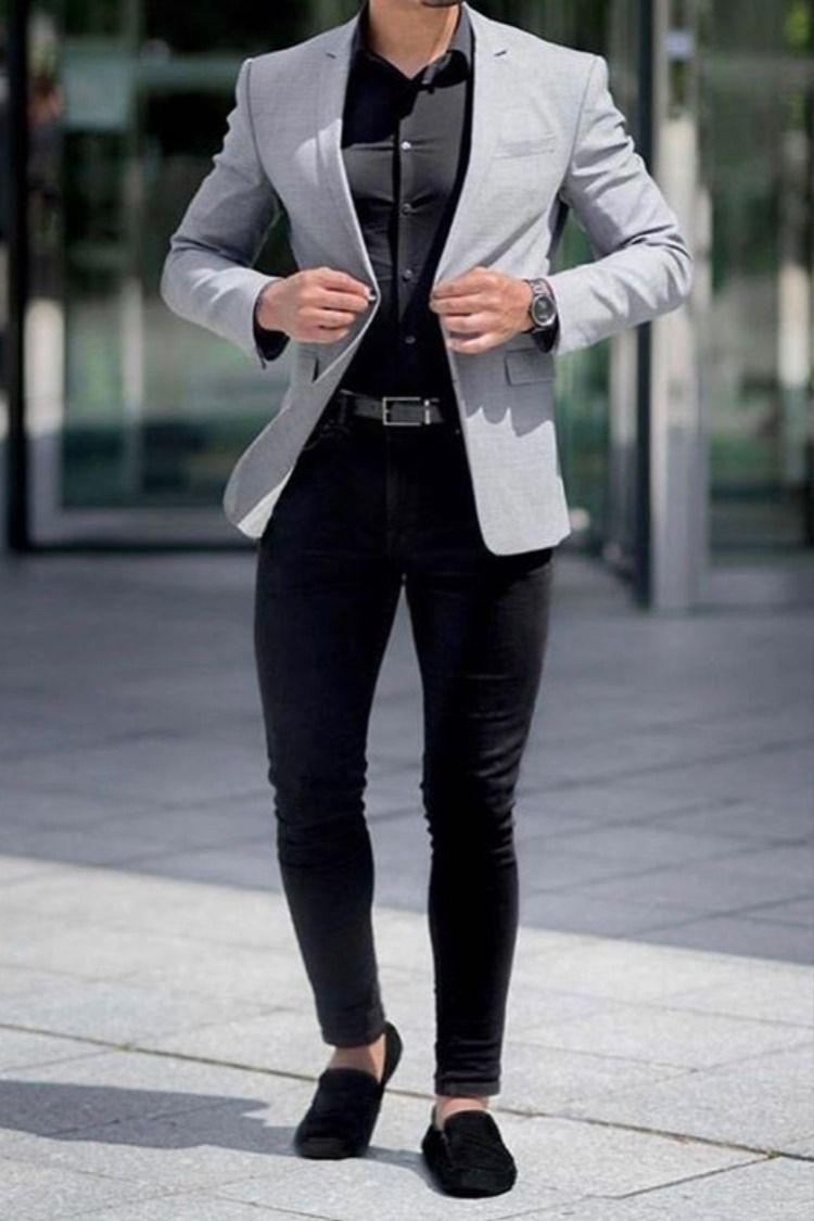 Fashion Business Casual Attire For Men Men Fashion Casual Shirts Mens Fashion Blazer [ 1125 x 750 Pixel ]