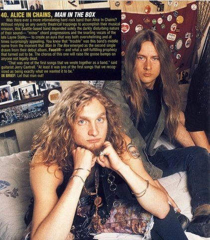 My Two Beloved Guys In This World Layne And Jerry Alice In