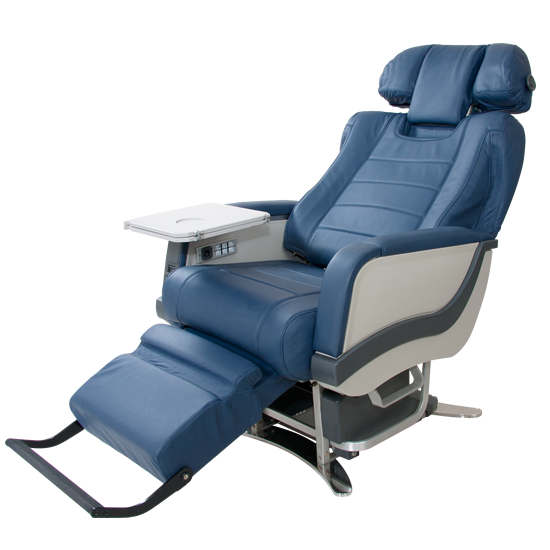 SkyArt  Aircraft Art Furniture presents the SkyLine First Class Seat Fully functional