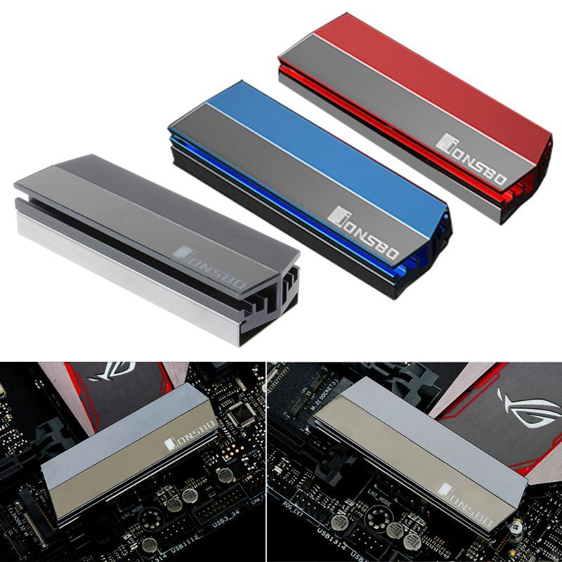 Shealuminum Alloy M 2 Ssd Heatsink Solid State Hard Disk Cooler