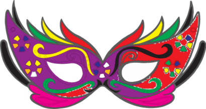 Mascaras De Carnaval Colorida Pra Imprimir Mascaras De