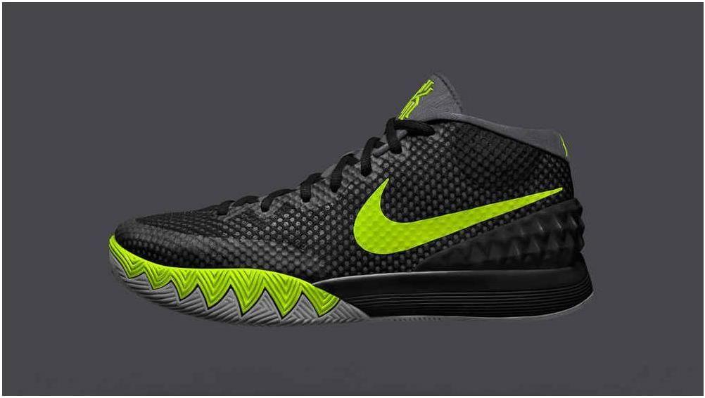 Black · Nike Kyrie 1 Wholesale iD Black Grey Volt