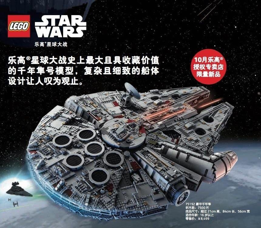 New LEGO Star Wars UCS Millennium Falcon 75192 Has Been Leaked in ...
