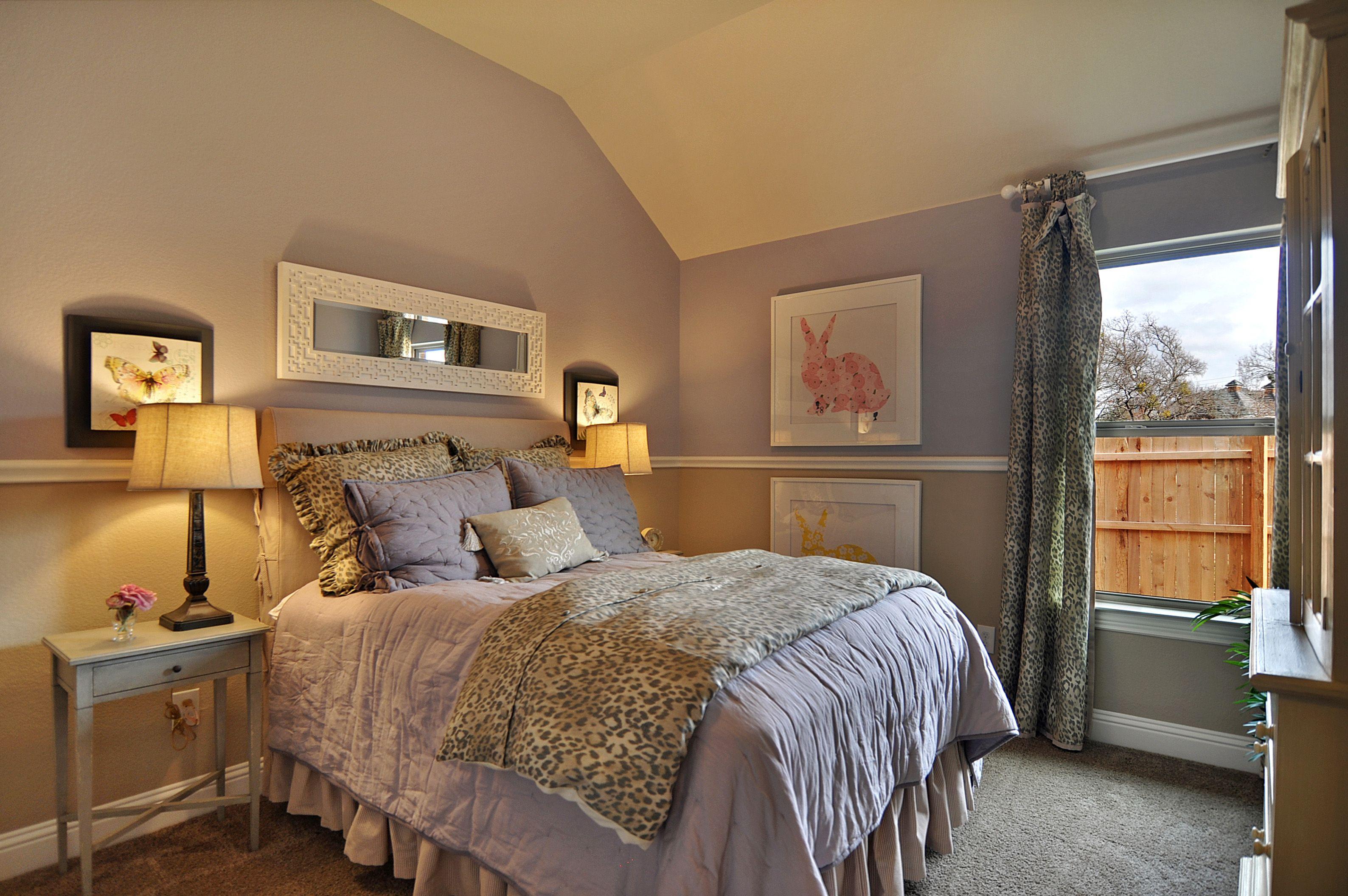 Seventeen Bedroom Secondary Bedroom In Seventeen Lakes Homes Interiors Bedrooms