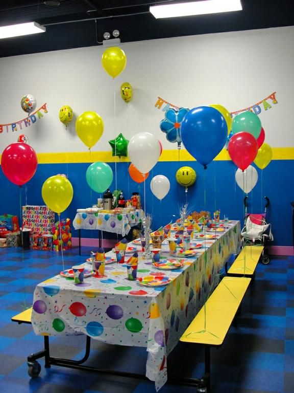 kids party rooms | Kids Island -Party Room, Birthday party for kids ...