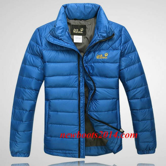 cheap prices best shoes official supplier Jack Wolfskin Outdoor Down Jacket Blue | Jack Wolfskin ...