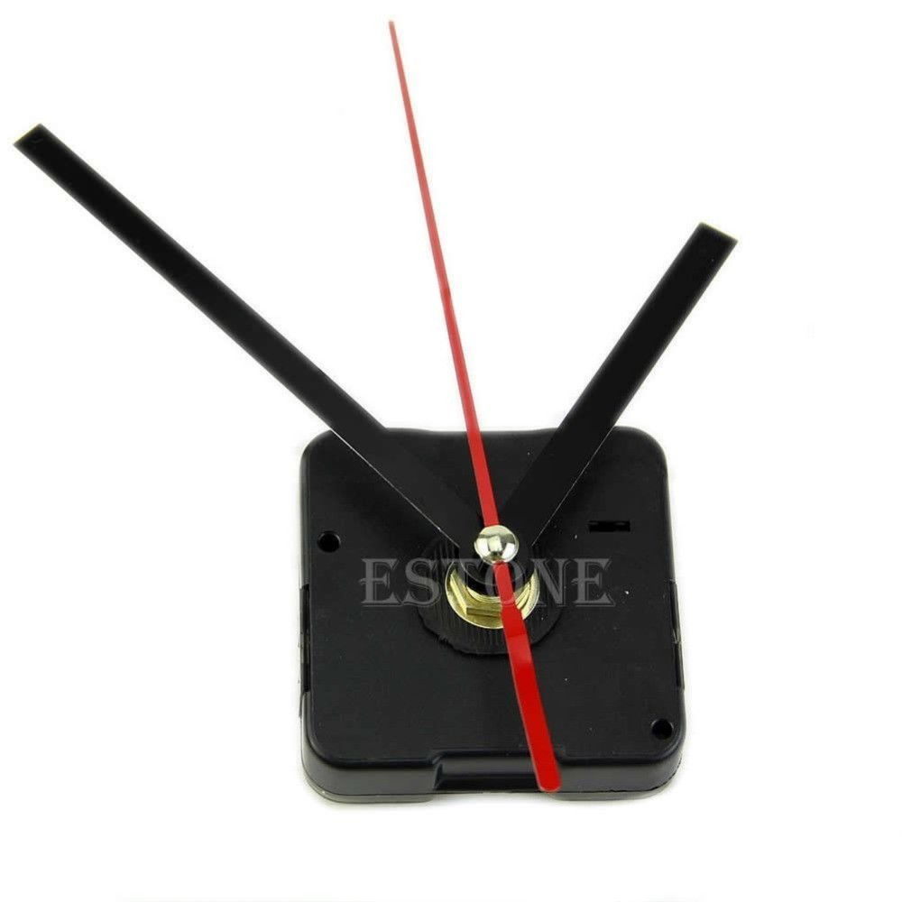 Quartz Clock Movement Mechanism Diy Repair Parts Black Hands En 2020 Reloj Mecanico Reloj