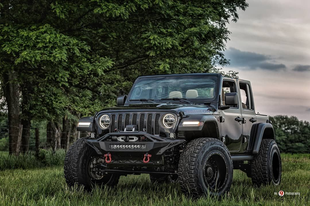 2018 Jeep Jlu Rubicon Fabtech Motorsports 3 Lift 20 Kmc Wheels